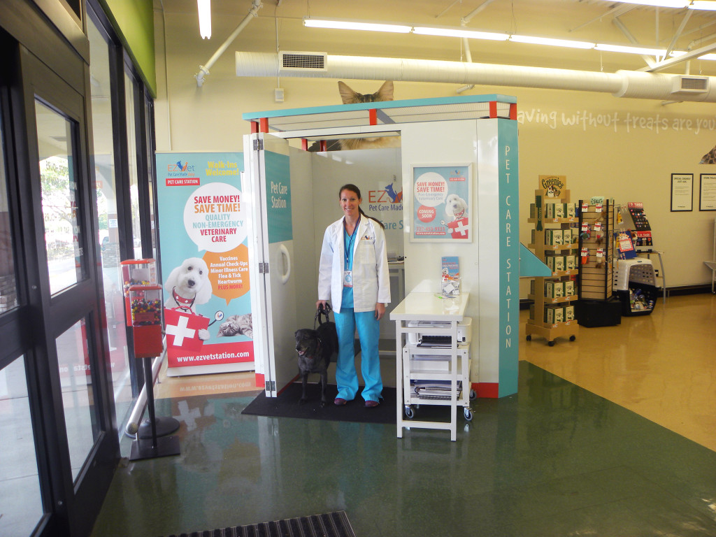 EZ Vet Station- Offering walk-in appointments for  veterinary care and pet vacinations